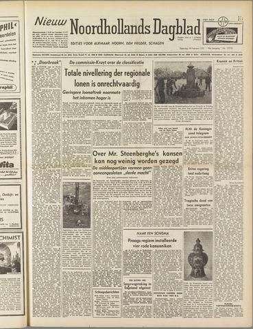 Nieuw Noordhollandsch Dagblad : voor Alkmaar en omgeving 1951-02-24