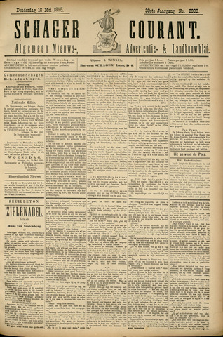 Schager Courant 1895-05-16