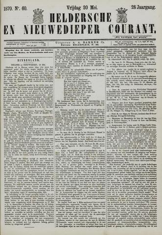 Heldersche en Nieuwedieper Courant 1870-05-20