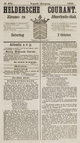 Heldersche Courant 1869-10-02