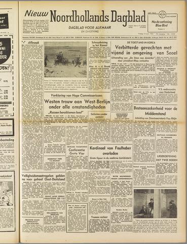 Nieuw Noordhollandsch Dagblad : voor Alkmaar en omgeving 1952-06-13
