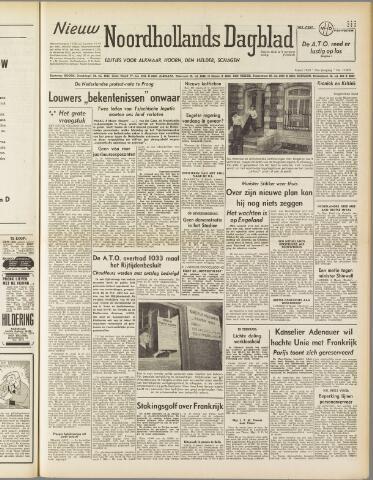 Nieuw Noordhollandsch Dagblad : voor Alkmaar en omgeving 1950-03-09