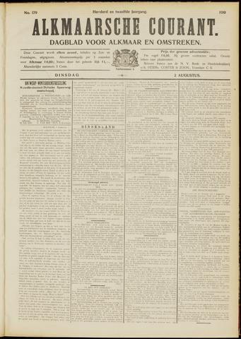 Alkmaarsche Courant 1910-08-02