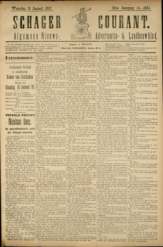 Schager Courant 1895-01-16