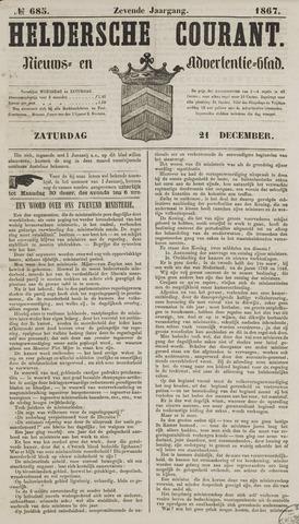 Heldersche Courant 1867-12-21