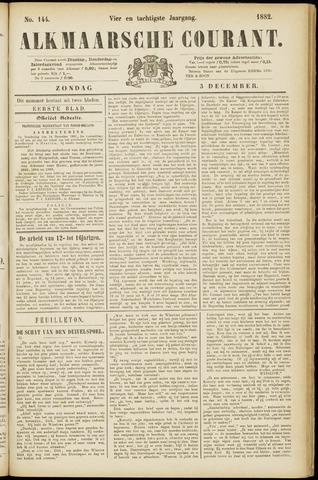 Alkmaarsche Courant 1882-12-03