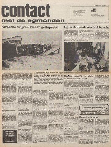 Contact met de Egmonden 1980-04-23