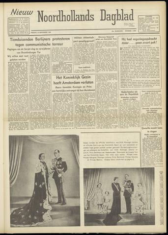 Nieuw Noordhollandsch Dagblad : voor Alkmaar en omgeving 1948-09-10