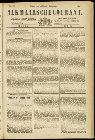 Alkmaarsche Courant 1887-04-01