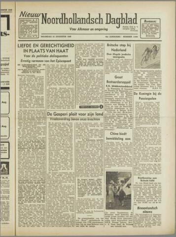 Nieuw Noordhollandsch Dagblad : voor Alkmaar en omgeving 1946-08-12