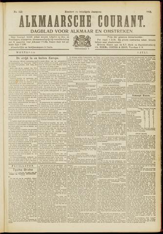 Alkmaarsche Courant 1918-07-03