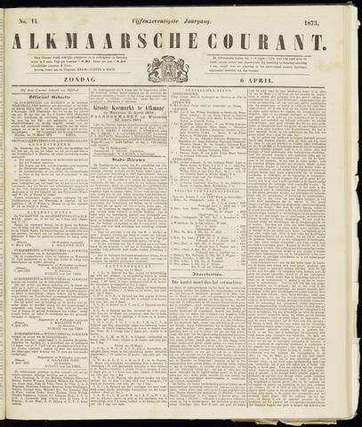Alkmaarsche Courant 1873-04-06