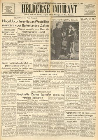 Heldersche Courant 1952-05-09