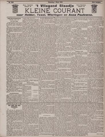 Vliegend blaadje : nieuws- en advertentiebode voor Den Helder 1903-03-04