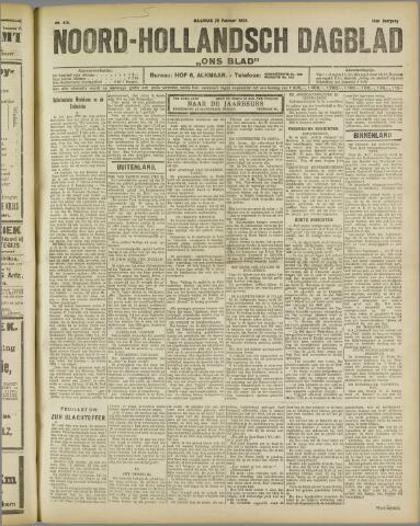 Ons Blad : katholiek nieuwsblad voor N-H 1922-02-20