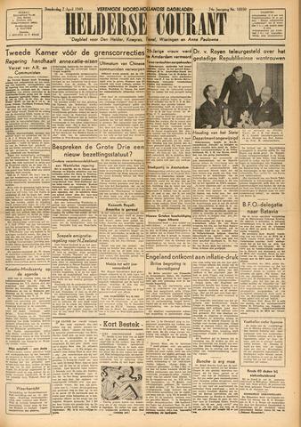 Heldersche Courant 1949-04-07