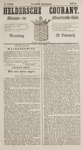 Heldersche Courant 1872-02-28
