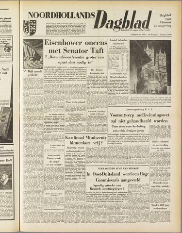 Noordhollands Dagblad : dagblad voor Alkmaar en omgeving 1953-05-29