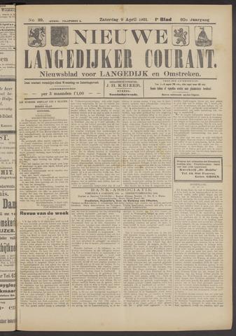 Nieuwe Langedijker Courant 1921-04-09