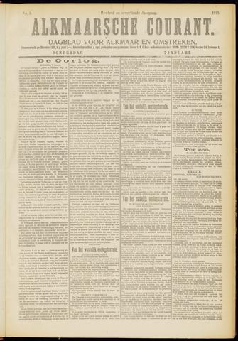 Alkmaarsche Courant 1915-01-07