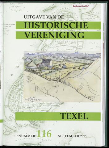 Uitgave Historische Vereniging Texel 2015-09-01