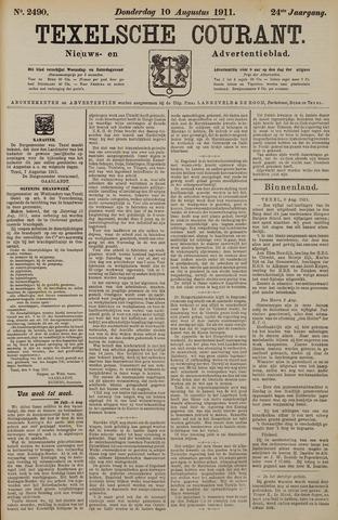Texelsche Courant 1911-08-10