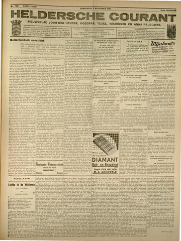 Heldersche Courant 1933-11-09