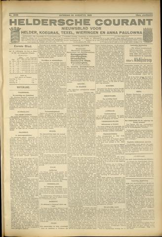 Heldersche Courant 1925-08-22