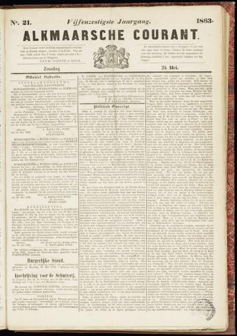 Alkmaarsche Courant 1863-05-24