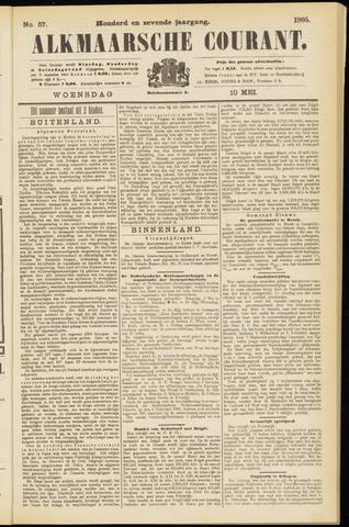 Alkmaarsche Courant 1905-05-10