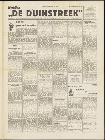 De Duinstreek 1949-08-19