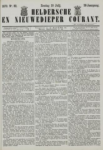 Heldersche en Nieuwedieper Courant 1870-07-10