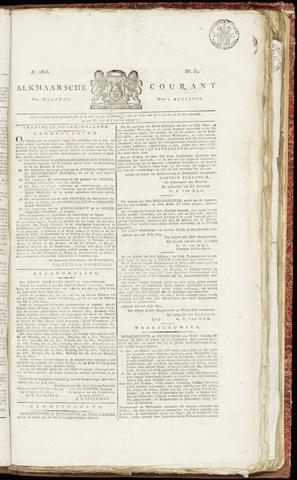 Alkmaarsche Courant 1825-08-01
