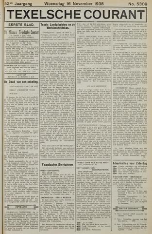 Texelsche Courant 1938-11-16