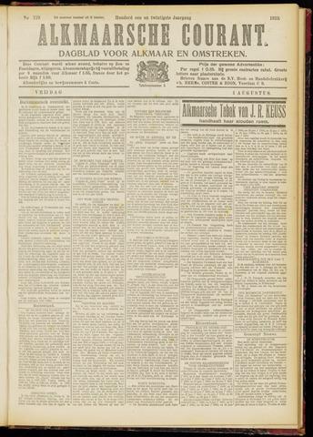 Alkmaarsche Courant 1919-08-01