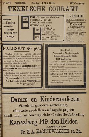 Texelsche Courant 1916-05-14