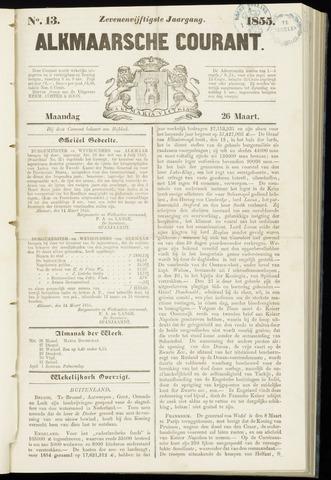 Alkmaarsche Courant 1855-03-26