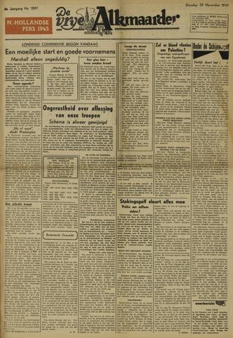 De Vrije Alkmaarder 1947-11-25
