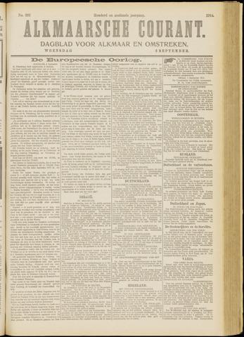 Alkmaarsche Courant 1914-09-02