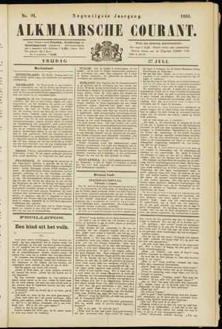 Alkmaarsche Courant 1888-07-27