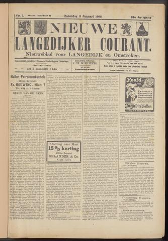 Nieuwe Langedijker Courant 1925-01-03