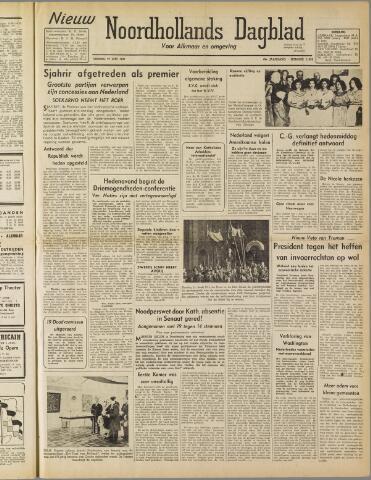Nieuw Noordhollandsch Dagblad : voor Alkmaar en omgeving 1947-06-27