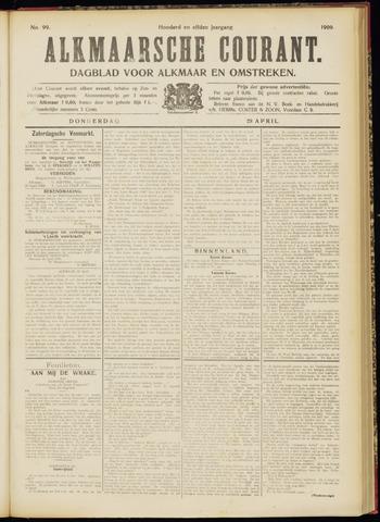 Alkmaarsche Courant 1909-04-29