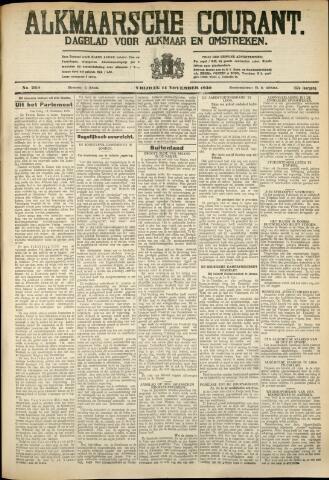 Alkmaarsche Courant 1930-11-14