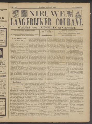 Nieuwe Langedijker Courant 1896-06-28