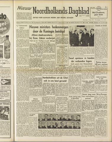 Nieuw Noordhollandsch Dagblad : voor Alkmaar en omgeving 1951-03-15
