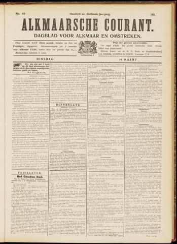 Alkmaarsche Courant 1911-03-14