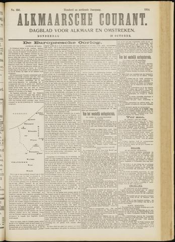 Alkmaarsche Courant 1914-10-22