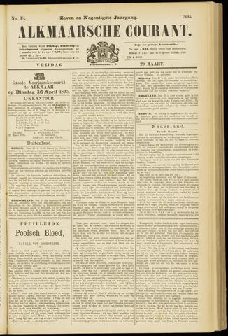 Alkmaarsche Courant 1895-03-29