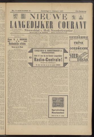 Nieuwe Langedijker Courant 1927-01-22